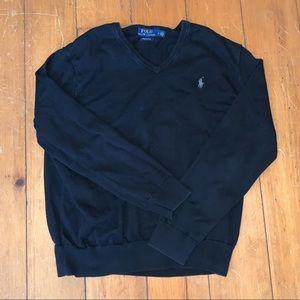 Polo by Ralph Lauren V- neck sweater men's large